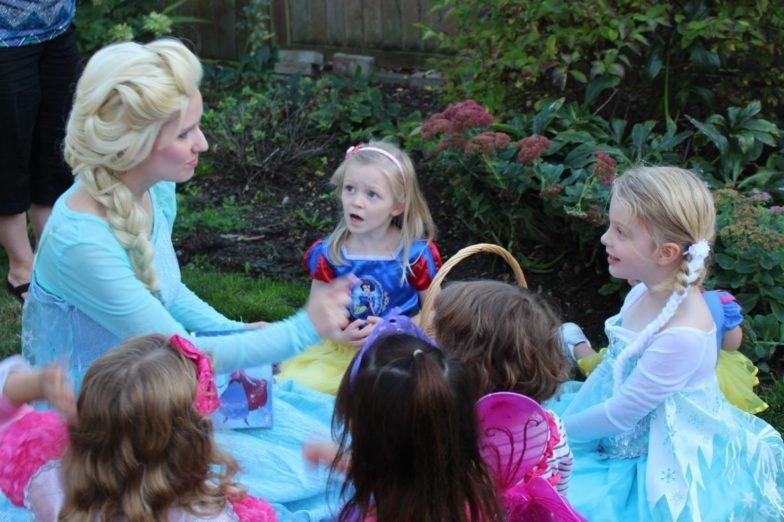 snow queen themed Parties