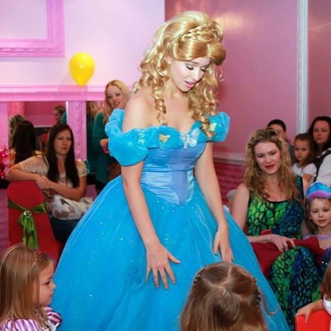 Madison as Cinderella