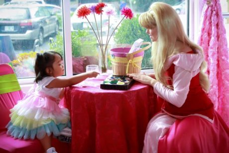 Princess Party Portland Oregon Character Visits