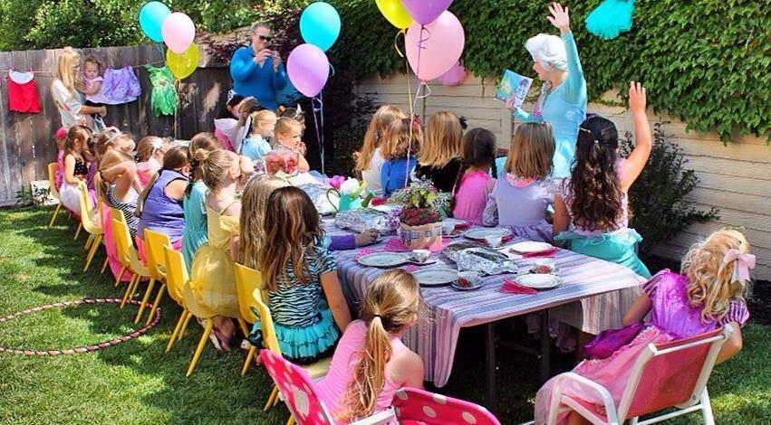 Throw a Princess Party in Seattle Washington
