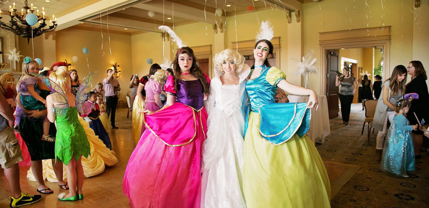 Cinderella and her Royal Company Princess Parties