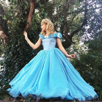 Hire Cinderella for a Birthday party
