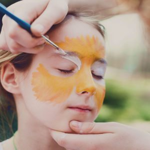 Face Painting by a Princess or SuperHero Parties in San Francisco and Surrounding Areas