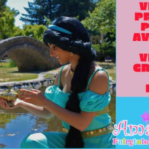 How to have a Virtual Princess Party